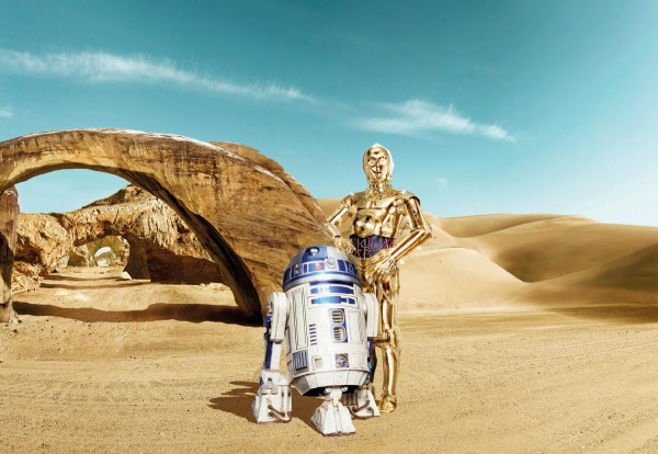 "Fototapete ""Star Wars Lost Droids"" Star Wars Komar 8-484"