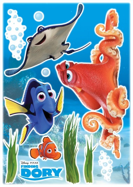"Deco-Sticker ""Dory and Friends"" Nemo Komar 14051h"
