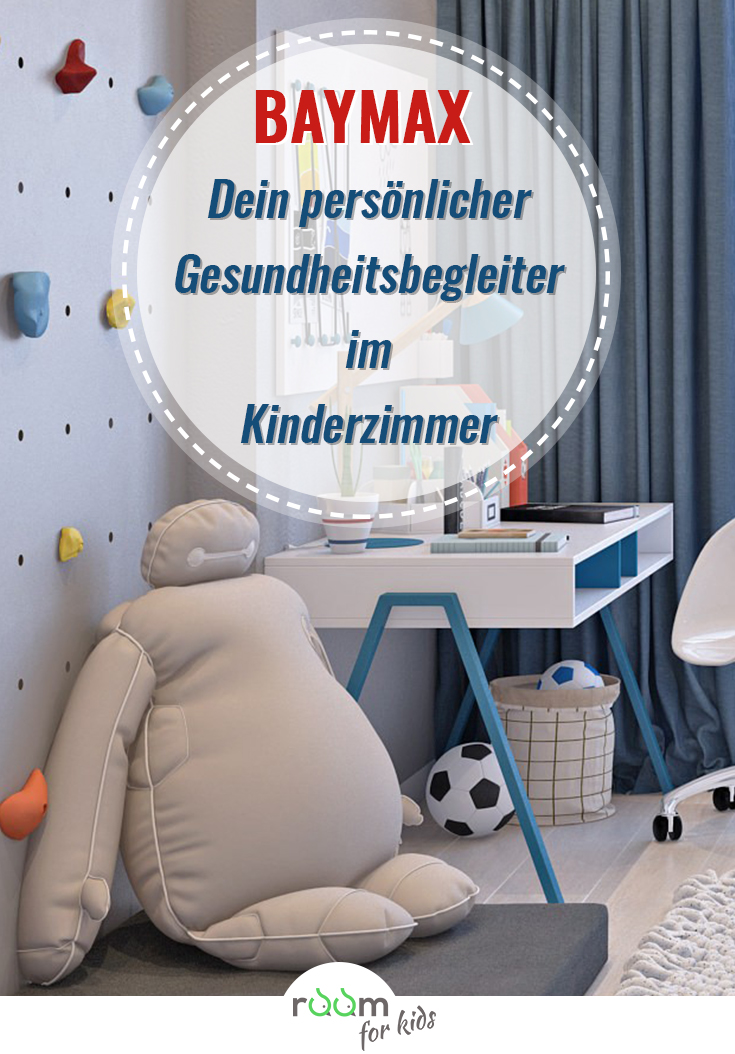 jungen kinderzimmergestaltung mit baymax room 4 kids. Black Bedroom Furniture Sets. Home Design Ideas