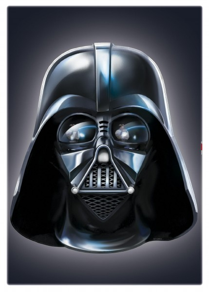 "Deco-Sticker ""Star Wars Darth Vader"" Star Wars Komar 14027h"