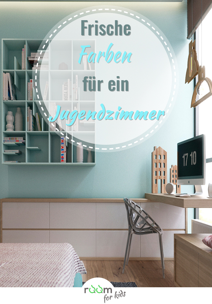 ein jugendzimmer f r m dchen in frischen farben gestaltet room 4 kids. Black Bedroom Furniture Sets. Home Design Ideas
