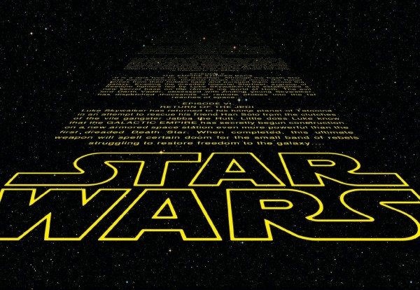 "Fototapete ""Star Wars Intro"" Star Wars Komar 8-487"