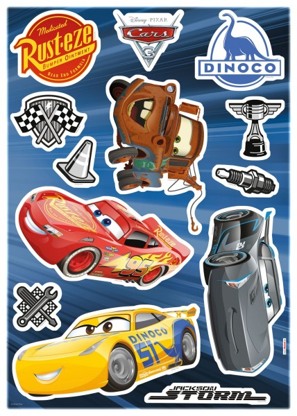 "Deco-Sticker ""Cars 3"" Cars Komar 14052h"